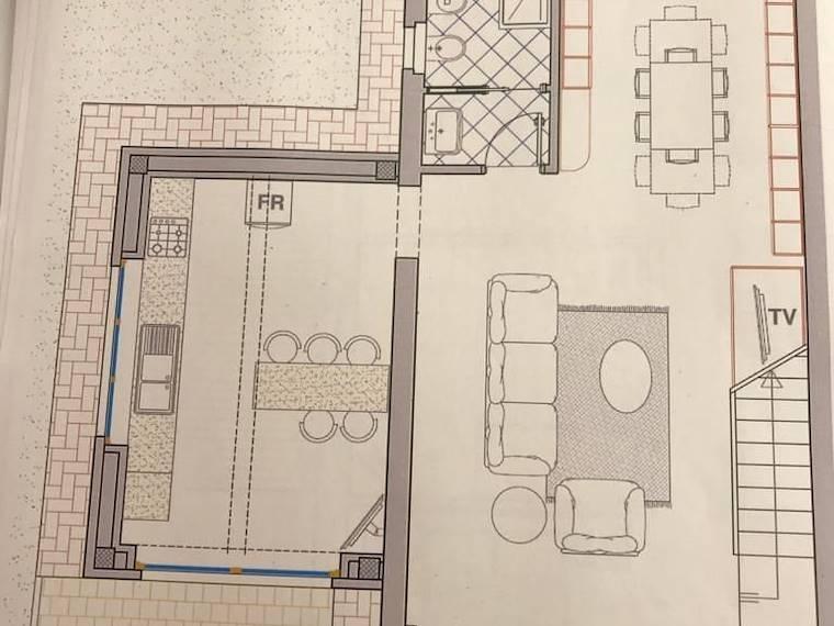 Progetto 1 piano terra (senza garage)